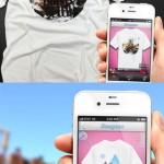 Tシャツがデザインできるカメラアプリ1