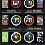 マンガ巻数メモ Comic Meter1
