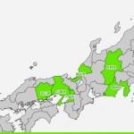 あそんでまなべる 日本地図パズル2