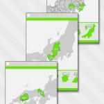あそんでまなべる 日本地図パズル3