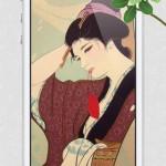 浮世絵の高画質壁紙 無料 iOS7対応4