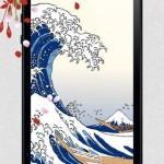 浮世絵の高画質壁紙 無料 iOS7対応5