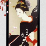 浮世絵の高画質壁紙 無料 iOS7対応3