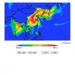 大気汚染予報(PM2.5と黄砂の予測)3