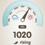温湿度計 (気圧計,不快指数)3