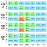 大気汚染予報(PM2.5と黄砂の予測)2